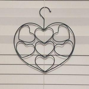 Accessories - Heart Scarf Hanger
